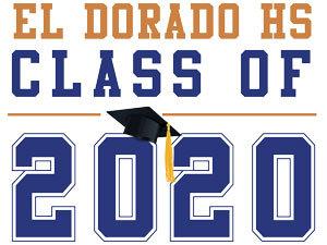 El Dorado HS - Class of 2020 (White)