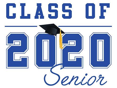 Folsom Lake HS - Senior 2020 (White)