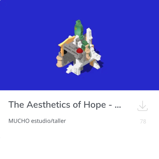 The Aesthetics of Hope