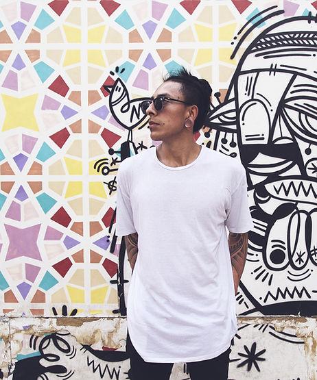 Fashion street style Dubai art