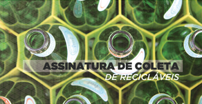 Assinatura de coleta de recicláveis