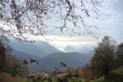 Panorama tra boschi e montagne .JPG