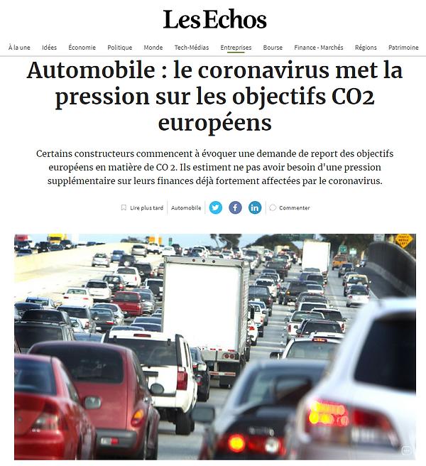 Automobile - Les Echos 30 - mars 2020.PN