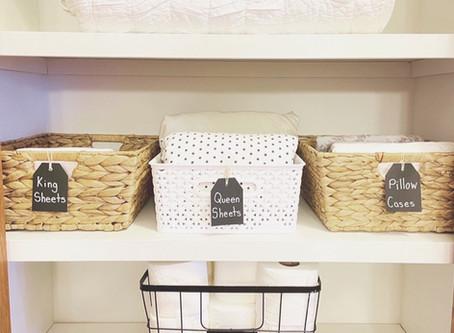 5 Tips for an Organized Linen Closet
