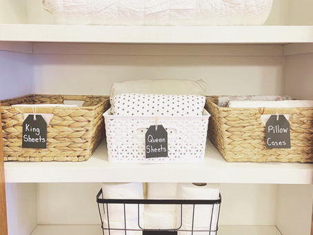 5 Tips for an Organized Linen Closet
