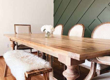 5 Essentials for a Stylish & Organized Dining Room