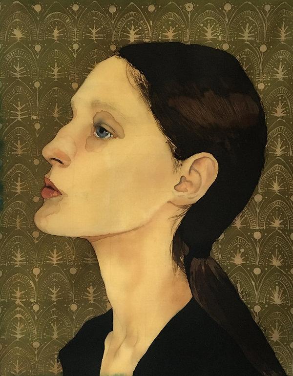 batik portrait