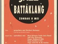 Zondag 8 mei: JazzBATTAKLANG!!