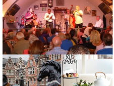 """Afternoon Tea Jazz"": bezoek Dendermonde, JCV en Honky Tonk"
