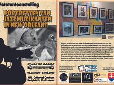 """Expo: """"Jazzmuzikanten uit New Orleans"""""""