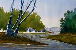 Springtime on the Herring River