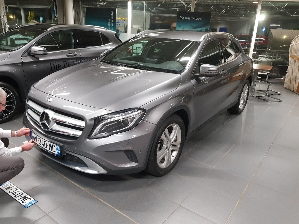 Mercedes GLA 220D