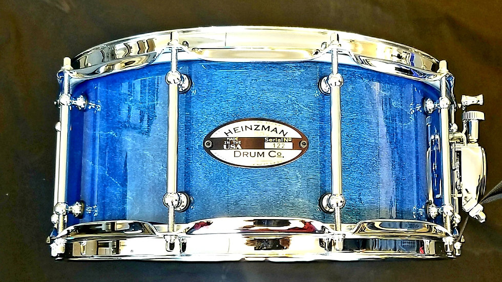 "SOLD Heinzman Maple Custom 6x14"" Snare"