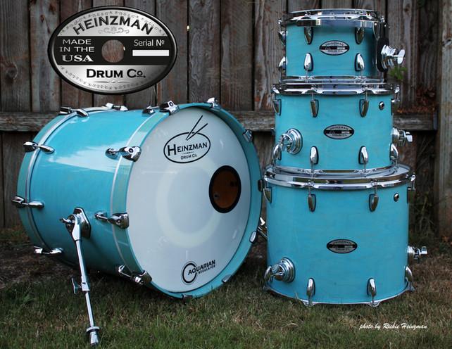 Heinzman Custom Drumset