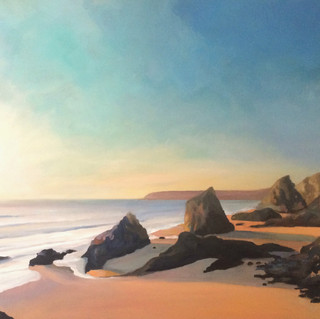 Bedruthan Steps (Summer Dawn)