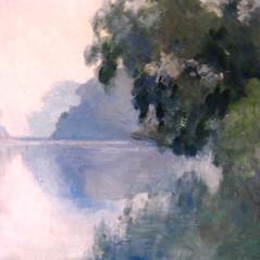 Evening Light on the Lake