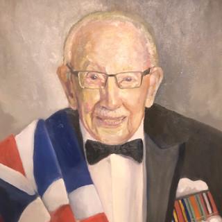 Portrait of Captain Sir Thomas Moore