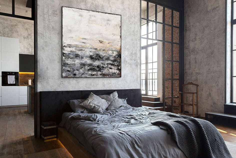 Contemporary painting - The Wall - Elide Pizzini.jpg
