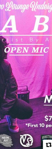 FABA OPEN MIC AT VOODOO LOUNGE