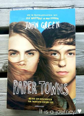 Review #1 Paper Towns - John Green