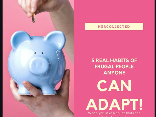 FRUGALITY IS THE NEW FAD!