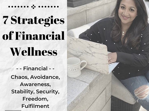 The 7 Stage of Financial Wellness