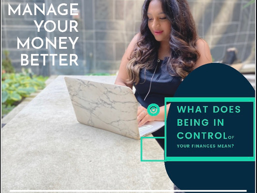 5 ways to take control of your Finances!