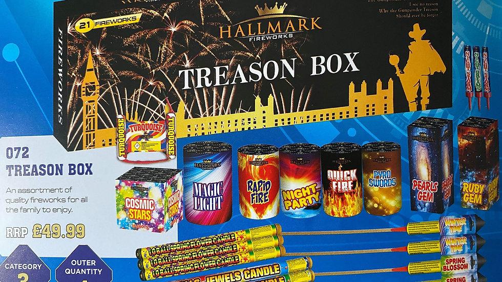 Hallmark Fireworks Treason Box