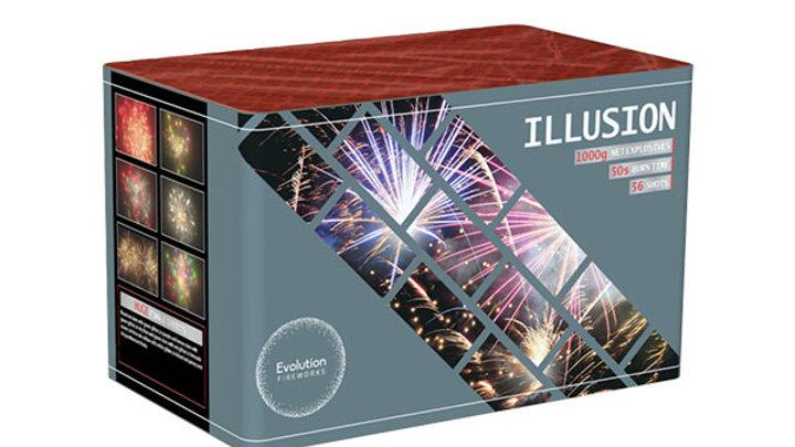 Evolution Fireworks Illusion