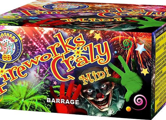 Brothers Pyrotechnics Fireworks Crazy Mini