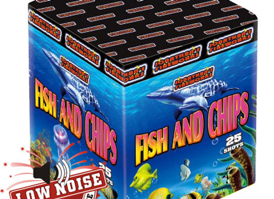Jonathans Fireworks Fish And Chips Low Noise Barrage