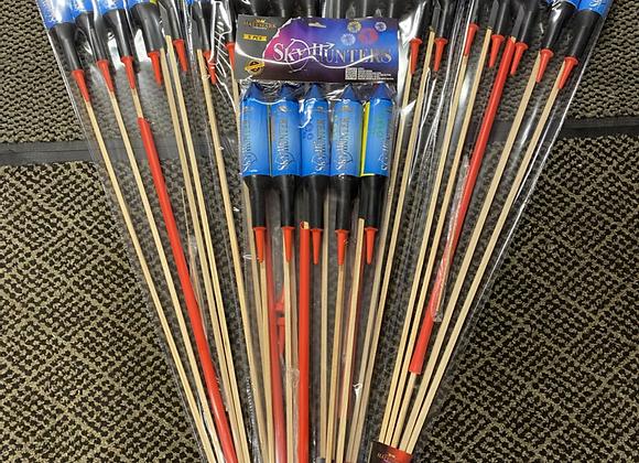 Sky hunter Rocket Volley 5 Packs
