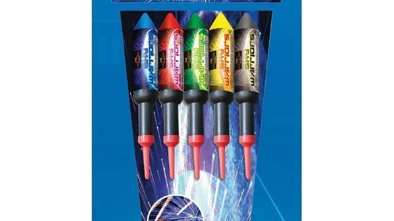 Hallmark Fireworks Sky Warriors