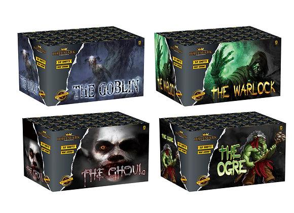 Hallmark Fireworks Ogre, Warlock, Ghoul Or Goblin