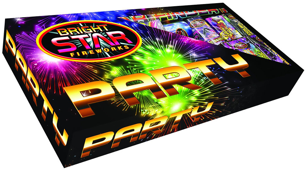 Bright star Fireworks Party Pack