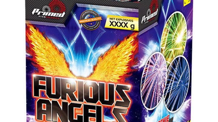 Primed Pyrotechnics Furious Angels