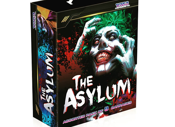 Vivid Pyrotechnics The Asylum Barrage Pack