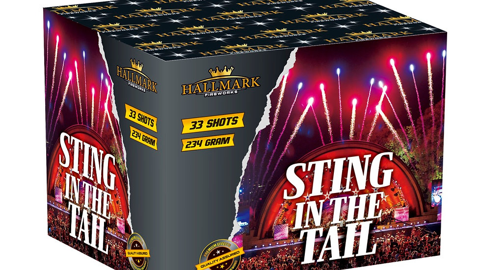 Hallmark Fireworks Sting In The Tail
