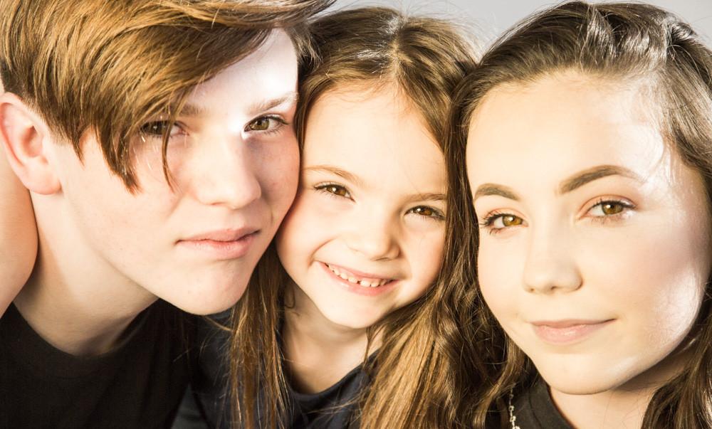 3 siblings.