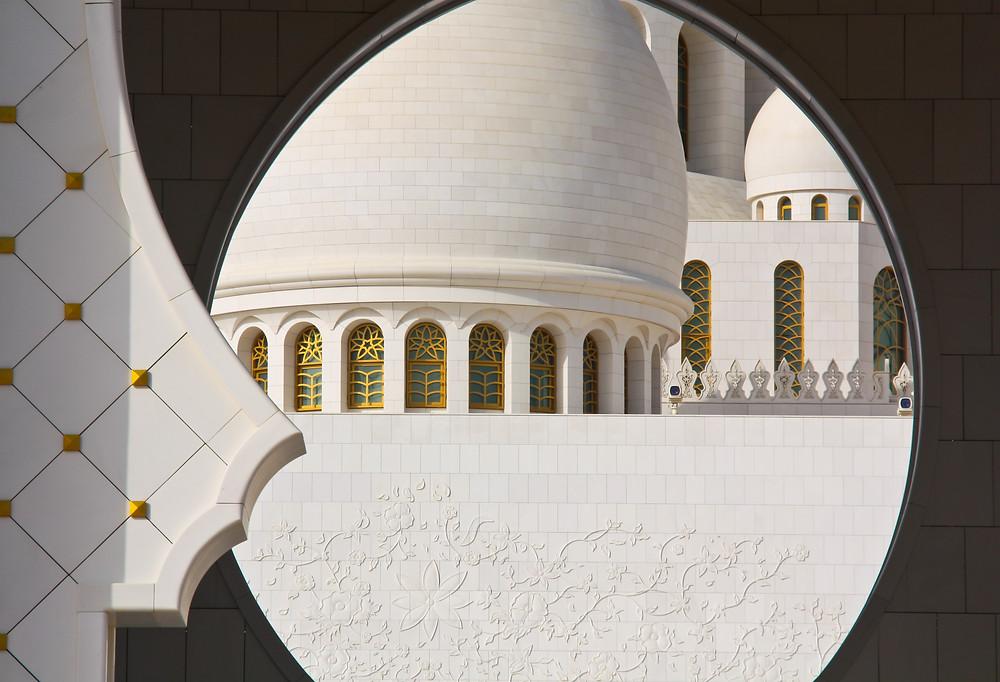 Framed mosque