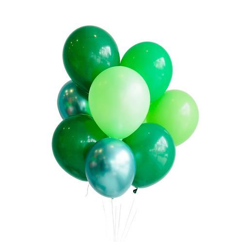 Petit bouquet de ballons - green