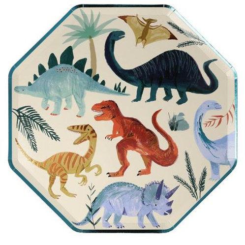 8 invités - Happy box dinosaure