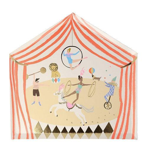 8 invités - Happy box cirque