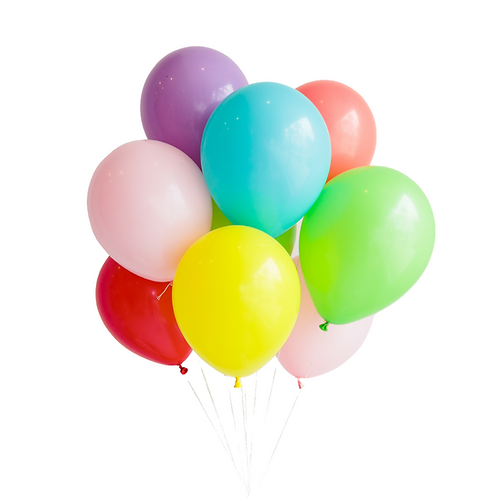 Moyen bouquet de ballons - rainbow