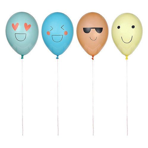16 invités - Happy box emoji
