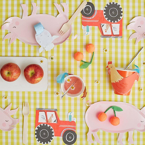 8 invités - Happy box la ferme