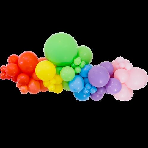 Kit guirlande de ballons - rainbow
