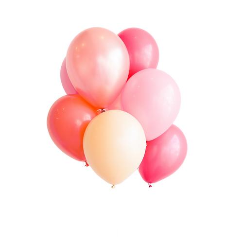 Petit bouquet de ballons - la vie en rose
