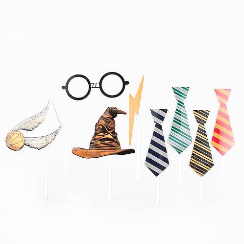 10 invités - Happy box Harry Potter