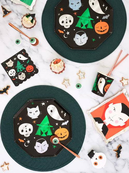 10 invités - Happy box Halloween